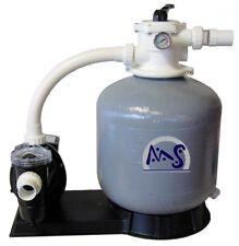 Sandfilteranlage glasfaserverstärkter Sandfilter 45 m³ Poolfilter Filteranlage