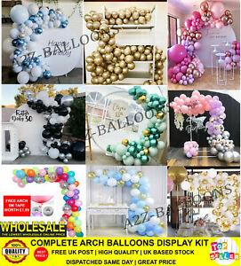 Balloon Arch Garland Kit Happy Birthday Party Wedding Baby Shower Decor Hen UK