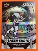 2019-20 Upper Deck MVP Laser Shots #S-5 Connor McDavid Edmonton Oilers