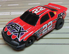 Para H0 Coche Slot Racing Modellbahn Nascar con Tomy Chassis