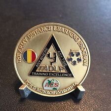 TADLP The Army Distance Learning Program Fort Monroe, VA Challenge Coin