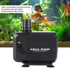 Aquarium Förderpumpe Strömungspumpe Tauchpumpe Wasserpumpe Teichpumpe 2500L//H DE