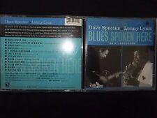 CD DAVE SPECTER & LENNY LYNN / BLUES SPOKEN HERE /