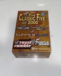 WWF/WWE The Classic Five Of 2000 DVD Box Set