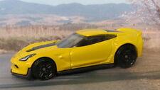 (CHEVROLET) CORVETTE C7 Z06 1:64 (Yellow) Hot Wheels Diecast Car