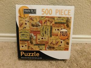 New Wells St. by Lang Outdoorsman 500 piece jigsaw puzzle