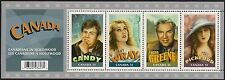 Canada Stamps - Souvenir Sheet - Canadians in Hollywood  #2153 - MNH