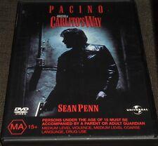 CARLITO'S WAY DVD (REGION 2,4,5) AL PACINO, SEAN PENN