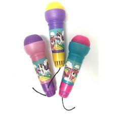 2 X Unicorno Magico Microfono attività per bambini voce CHANGER giocattolo Echo Microfono Kids