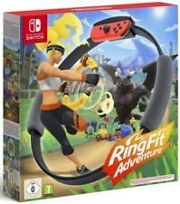 Ring Fit Adventure   Nintendo Switch New Sealed with Official Ring and Strap