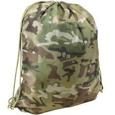 KIDS ARMY CAMO DRAWSTRING BAG BOYS ARMY SCHOOL BAG SWIM P.E CADET MTP BTP