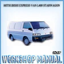 MITSUBISHI EXPRESS VAN L400 STARWAGON REPAIR SERVICE MANUAL IN DISC