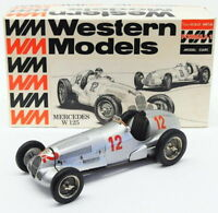 Western Models 1/24 Scale White Metal Model WF5 - Mercedes W125 F1 Racing Car