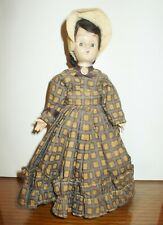 Lovely Vintage French Celluloid & Hard Plastic Doll 7 1/4� Tall (#H11)