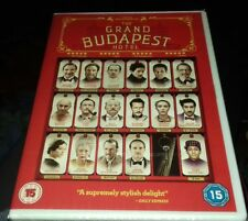 The Grand Budapest Hotel (DVD) BRAND NEW AND SEALED FREE UK POSTAGE Adrian brody