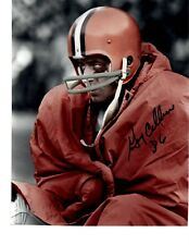 GARY COLLINS CLEVELAND BROWNS SIGNED 8x10 (OSG COA) (8-9)