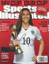 Carli Lloyd '2015 World Cup Winner' Signed Sports Illustrated *Coa 1