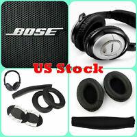 Replacement Cushions Ear Pads Headband BOSE QuietComfort QC15 QC2 Headphones