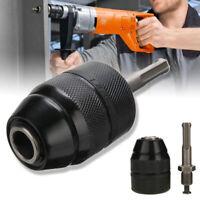 13mm 1//2*20 UNF Mounting Keyless Drill Chuck For Makita Power Drills Tool Kit