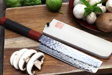 YOSHIHIRO VG10 Hammered Damascus Usuba 16cm Shitan Japanese Sushi chef knife