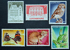 Timbre LUXEMBOURG Stamp - Yvert et Tellier n°1081 à 1086 n** (Cyn20)