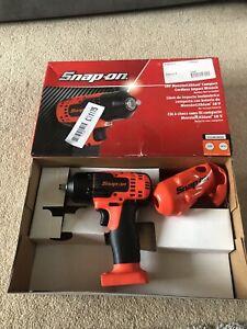 "Snap On Cordless 3/8"" Drive 18V MonsterLithium Impact Wrench  CTEU8810 Orange"