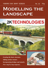 Peco SYH 13 The Railway Modeller Book Modelling The Landscape 8 page Booklet 1st
