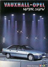Vauxhall Opel 1986-87 UK Market Sales Brochure Nova Astra Cavalier Manta Carlton