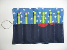 Handmade Crayon Roll with 6 Crayons: Spiderman (1)