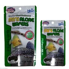 Hikari Mini Algae Wafer 85g Plecostomus and Marine Herbivores Zebra Pleco L46