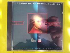 MOZART W. A. - I GRANDI DELLA MUSICA CLASSICA. VOL. 1. CD.