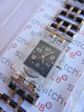 SWATCH+SQUARE+SUBK132G ORGANIC CHAIN+NEU/NEW
