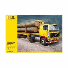 Heller Hell81704 Volvo F12-20 & Timber Semi Trailer 1/32