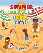 Summer Activity Book for Kids : Reproducible Games, Worksheets and Coloring...