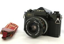 [Exc Canon F-1 Late Model SLR Film Camera w/ FD 28mm F/2.8 S.C. from Japan