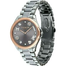 Coach Women's Watch business Astor Sunray Charm Silver Ladies Rose Gold 14503064