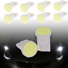 12V 10x Car Super Bright White 1 LED COB SMD T10 W5W Wedge Side Light Bulb Lamp