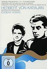 HERBERT VON KARAJAN-PROKOFIEV: SYMPHONY NO. 1-TCHAIKOVSKY: PIANO CON  DVD NEU