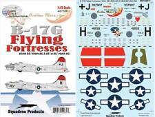B-17 G Fortress Nose Art: 850, 851 BS, 490 BG (1/72 decals, Superscale 720911)
