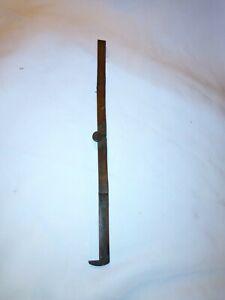 "Vintage Antique Stanley No 32 Wooden Folding Pocket Ruler With Caliper 12"""