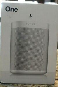 Sonos One Gen 2 Indoor Speaker - White new in open box