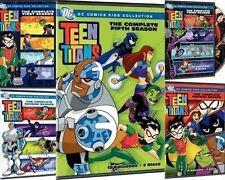 Teen Titans: The Complete Animated Series Seasons 1 2 3 4 5 [DVD Set, DC COMICS]