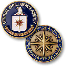 NEW CIA Central Intelligence Agency Challenge Coin