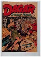 Dagar Desert Hawk #21 VF 1948 Fox Features GOLDEN AGE Comic Book Jungle SOTI JJ1