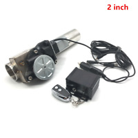 "2.0"" I Type Electric Exhaust Catback Downpipe E-Cutout Valve System Remote Kit"