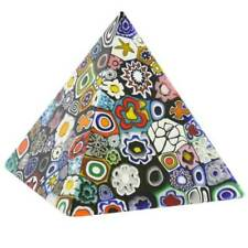 Glassofvenice Murano Glass Millefiori Pyramid