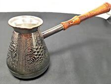 TURKISH ARMENIAN COFFEE POT MAKER CEZVE 10 OZ  / 300 ml