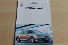 86808) Hyundai Coupe Tiburon - Österreich - Prospekt 199?
