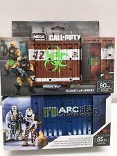 Mega Construx Call of Duty Ártico Recon & Hazmat laboratorio Armería