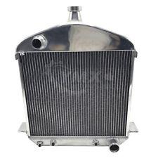New Ford T Bucket Model TT Full Aluminum 2 Row Racing Radiator 1917-1927